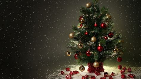 christmas tree with house wallpaper 1920x1080 wallpaper wallpapersafari