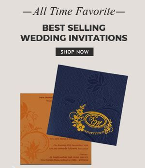 Indian Wedding Invitations   Online Wedding Cards