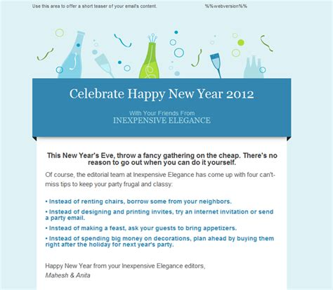 download free software happy new year 2013 email template
