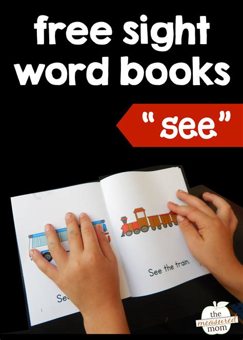 sights books teach the sight word quot see quot with four free books the