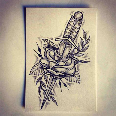 cool rose tattoo clip on free cool drawings of hearts with roses and