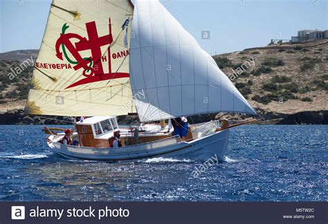 fishing boat costume traditional greek fishing boat stock photos traditional