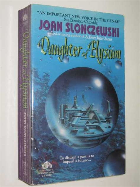 elysium books of elysium by joan slonczewski 1994 small pb