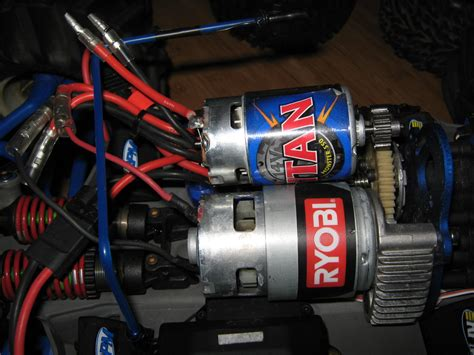 rc truck motors drill motor used for rc car hacked gadgets diy tech