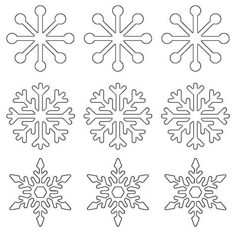 printable icing snowflake template free printable snowflake templates large small stencil
