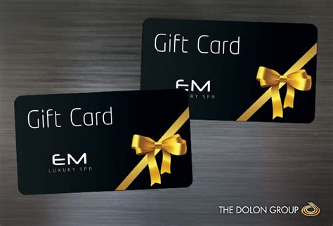 Logo Gift Cards - project showcase em luxury spa cms website website design development logo