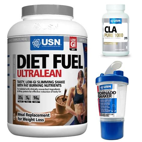2 protein shakes and a meal diet usn diet fuel ultralean chocolate or strawberry 2kg meal