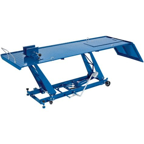 motorcycle lift bench draper tools 450kg hydraulic motorcycle lift r bench