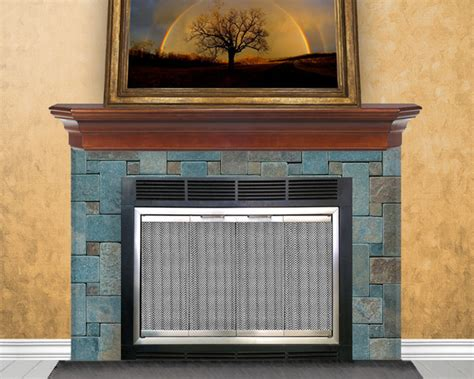 glass enclosed fireplace hearth craft fireplace glass doors installed eclectic