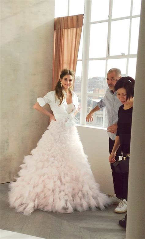 hochzeitskleid olivia palermo go behind the scenes at olivia palermo s brides cover