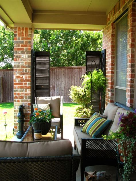 porch and patio may days a small patio makeover home and garden ideas