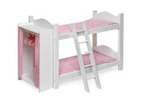Cheap American Girl Doll Accessories Bunk Bed For 39 American Doll Beds For Cheap