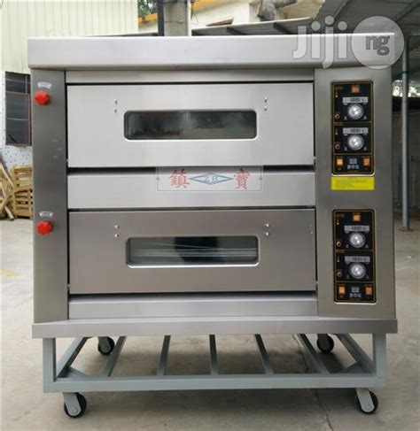 Oven Gas 2 Tray gas baking oven 4 trays 2 deck for sale in abuja buy