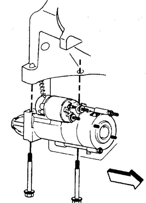 chevy starter solenoid wiring diagram get free image