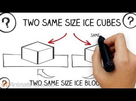 Block L Appears To Be A Melting Cube by Heat Transfer Melting Cubes Using Blocks