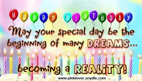 Happy Birthday Quotes For A Happy Birthday Wishes For A Friend Pink Lover