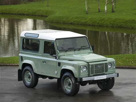 green land rover defender stock tom hartley jnr