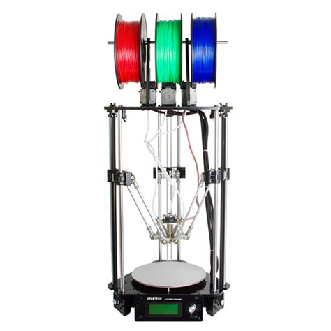 color 3d printer geeetech rostock 301 mix color 3d printer geeetech wiki