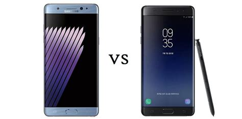 samsung galaxy note 7 fan edition galaxy note 7 fan edition vs galaxy note 7 quelles sont