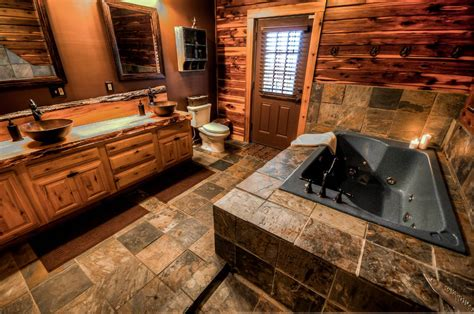 Two Story Fireplace coshocton crest lodge ohio luxury log cabin rental