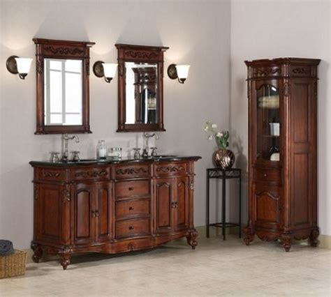 old world bathroom vanities antique bathroom vanity sets old world style with a modern convenience traditional