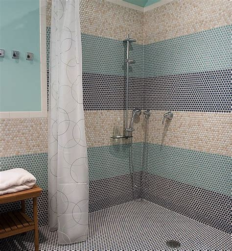 tile shower without door doorless showers how to pull the look
