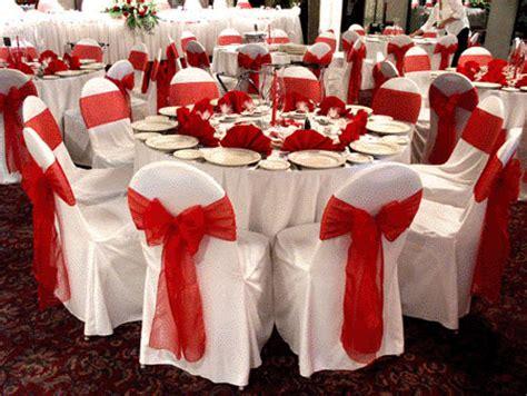imagenes bodas en blanco y rojo decoraci 243 n para bodas de color rojo