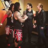 Roman Reigns And The Usos Football | 606 x 606 jpeg 68kB