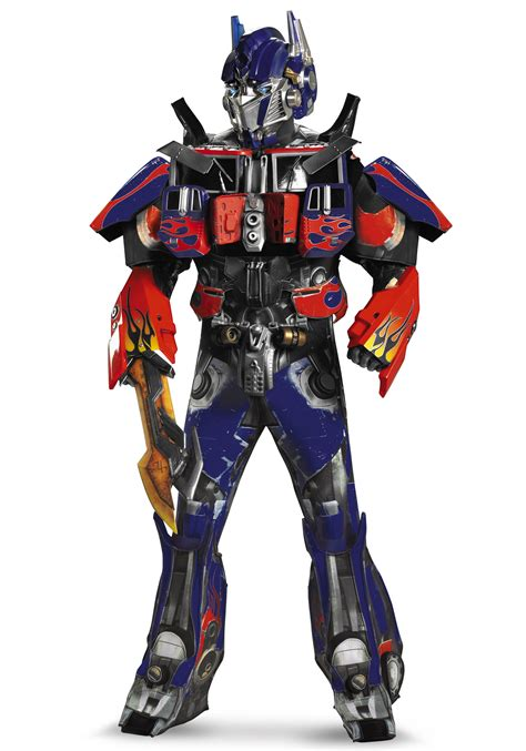 transforming halloween costume authentic mens optimus prime costume w vacuform