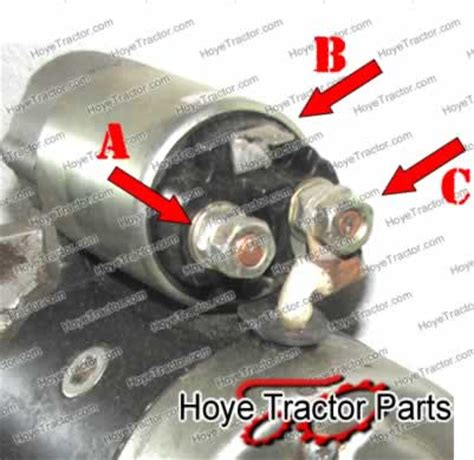 acceptable starter motor wiring with www jeffdoedesign