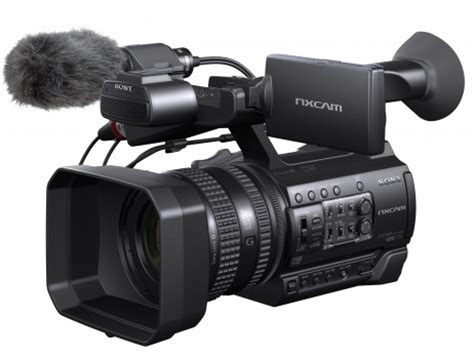 sony hxr nx 100 new entry level small sensor camcorder