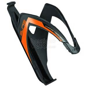 porte bidon elite custom race noir logo orange boutique v 233 lo