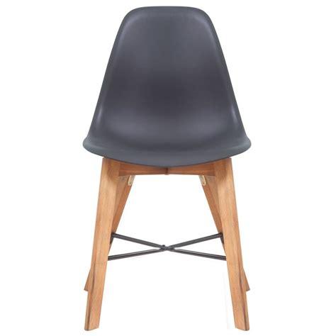 6 Black Dining Chairs Vidaxl Co Uk Vidaxl Dining Chairs 6 Pcs Acacia Wood Black