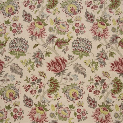 Sanderson Upholstery Fabric Uk by Oleander Linen Green Tea Prints Ian Sanderson Upholstery And Curtain Fabrics