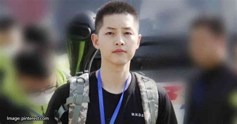 Army Home Decor by These Images Of Song Joong Ki When He Was In The Army Will