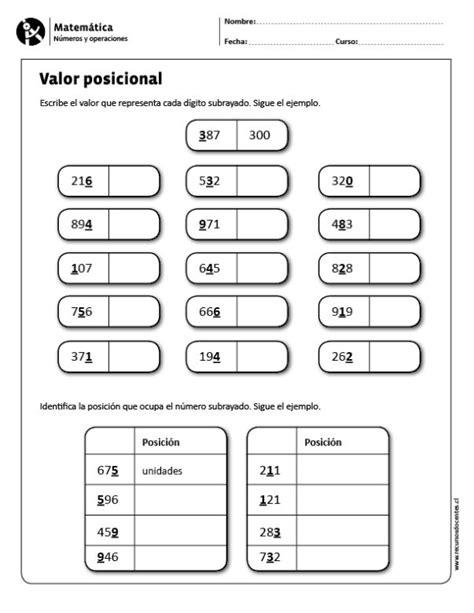 valor posicional resultado de imagen para plantilla valor posicional
