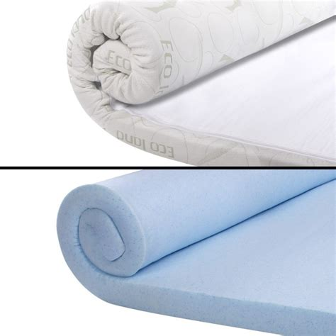 Cool Gel Mattress Topper King by Cool Gel Memory Foam Mattress Topper With Bamboo Fabric