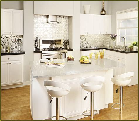 white kitchen island with granite top home design ideas