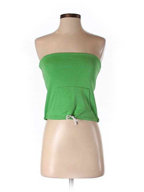 Top Batiquee Collection Size M ralph collection 100 cotton solid green top size m 81 thredup