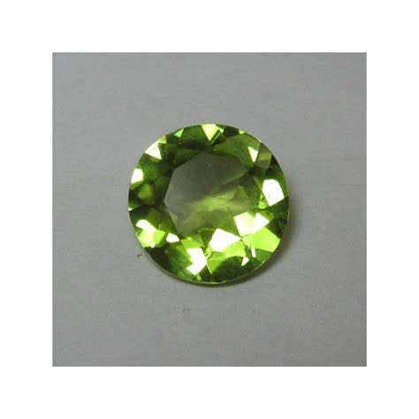m7195 green peridot memo batu permata peridot 8mm 1 87 carat harga