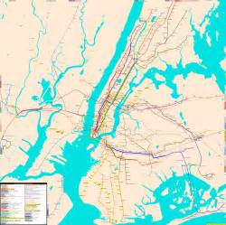 Map Of New York City Area by Nyc Train Map Related Keywords Amp Suggestions Nyc Train