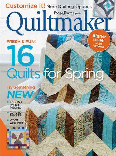 Digital Issue Of Quilting Marchapril 2005 quiltmaker march april 2017