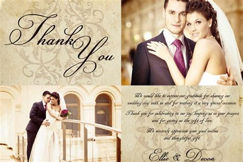 when should you get wedding thank cards out 7 ways to say thank you to your wedding guests