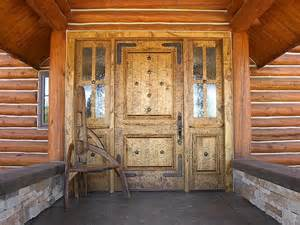 Knotty Alder Exterior Door Rustic Custom Entry Knotty Alder Door Home Exteriors