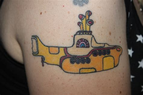 yellow submarine tattoo 21 best images about tattoos on
