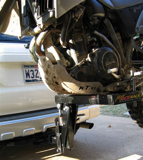 motocross bike rack moto rack jack dirt bike carrier toyota 4runner forum