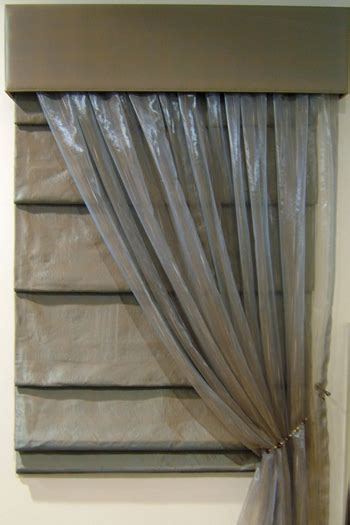 blinds with sheer curtains newsletter roman blinds lahood window furnishings