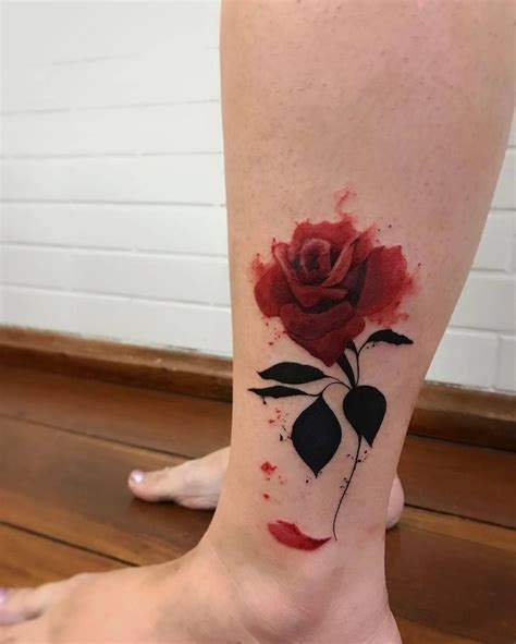 deep red rose tattoo best 25 ink addiction ideas on tattoos
