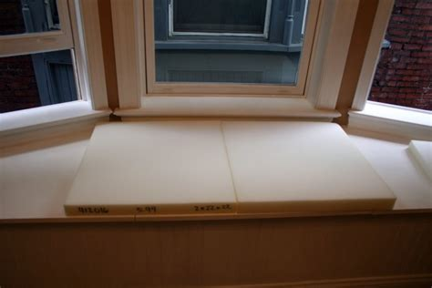 how to sew window seat cushions how to make no sew window seat cushions craft room update