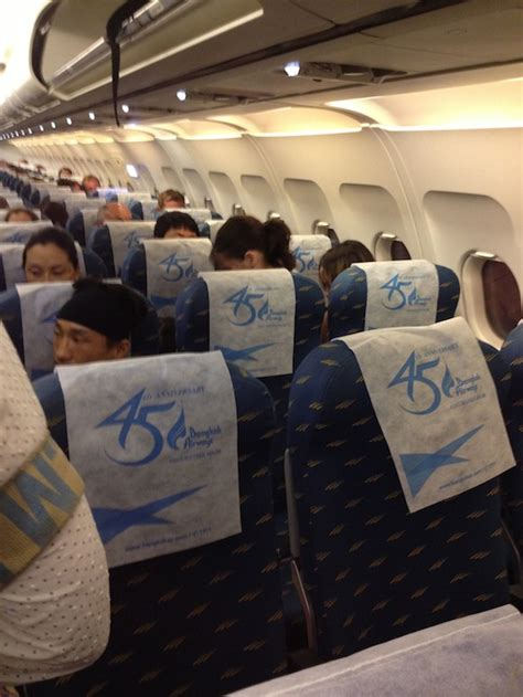 Bangkok Airways Interior a royal dis hhonor bangkok airways economy class koh